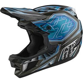 Troy Lee Designs D4 Composite Helmet low rider teal